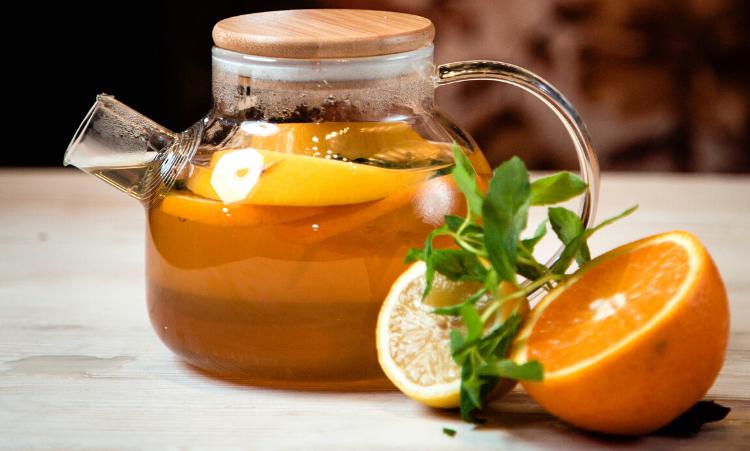 grossiste thé vert à l'orange